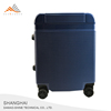 Unique ABS China Cheap Silver Aluminum Frame Luggage Bag