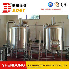 15BBL lager/ale/IPA craft beer microbrewery plant equipment for sale