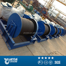 electric drum winch geared motor
