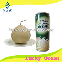 Instant coconut juice in canned