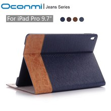 "For iPad Pro Case 9.7"" Auto Sleep/Wake Up Magnetic Smart Stand Flip Leather Case For iPad Pro Hand Hold Tablet Case Cover"
