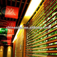 Good prices Construction Curtain Walls Terracotta Vertical Facade Louver