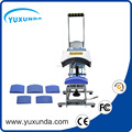 CE approved Yuxunda all faction 5 in 1 cap heat press machine 5 different sizes cap heat transfer machine