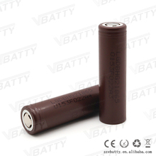 Original lg 18650 chocolate battery 3000mah 3.7v 18650 lion battery lg hg2 battery