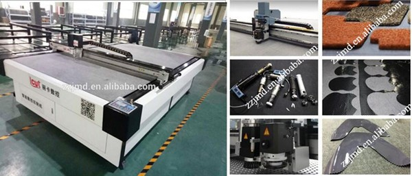 Multifunctional CNC Carton Box Cutting Machine For Sale