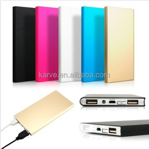 UL Certifed 3000 mah power bank / portable phone charger power bank