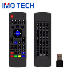 Shenzhen IMO Support Paypal 2.4G MX3 Air Mouse For Smart Android TV Box Can Work With T95M T95Z Plus X96 Mini Media Player