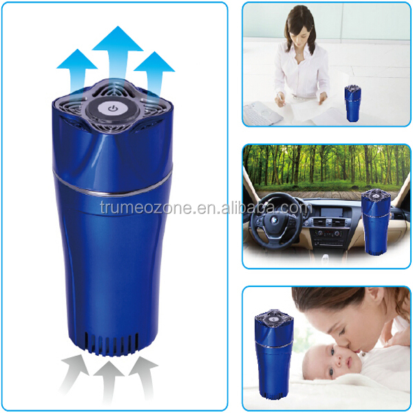 Air Purifier ozone generator Car ozone hepa uv ion air purifier FOR CAR