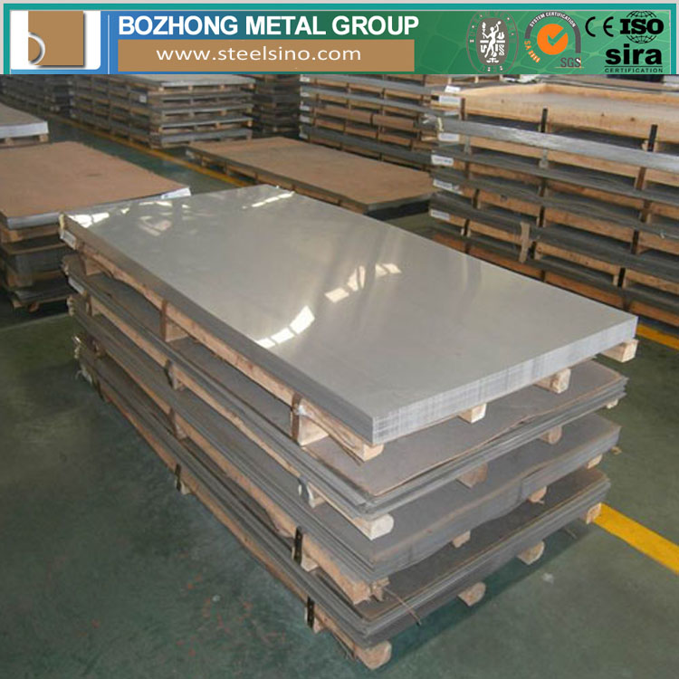 cold rolled mirror finish Prime 6mm stainless steel plate