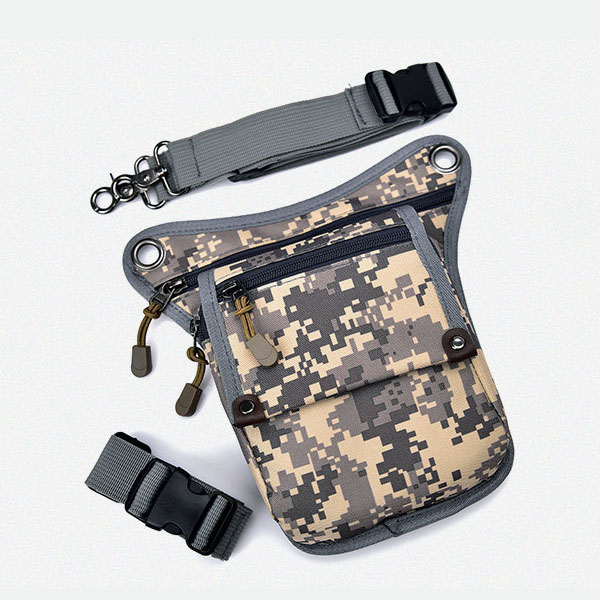 China suppliers unisex sport leg pouch hip bag outdoor camo waist belt bag