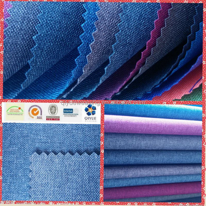 600D cationic polyester oxford fabric with pu coated for bag material