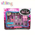 Non-toxic kids craft sparkle nail set glitter nail polish