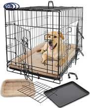 2017 new style Metal Iron Commercial Dog Cage from factory