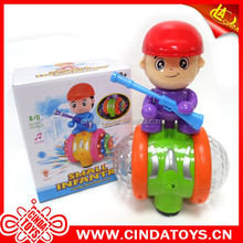New toys box packing mini plastic cartoon Figure toy b/o car Electric vehicle toy for kids