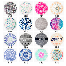 Cotton Beach Towel Round