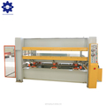 100 tons one layer woodworking plywood door skin hydraulic hot press