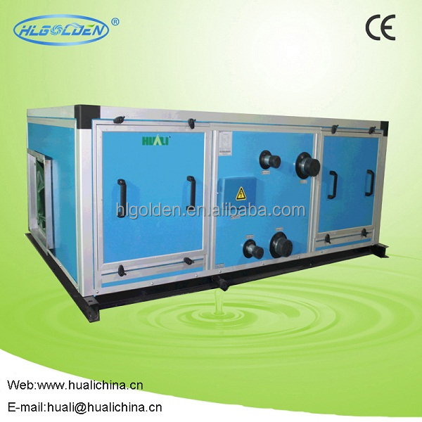 Good quality long life time Horizontal type air handing unit(6 Rows)