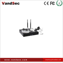 vandsec onvif 4CH 5.8G Strong Wi-Fi signal with doom&weatherproof cctv camera