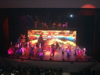 Stage vivid performance indoor RGB led video display P7.62