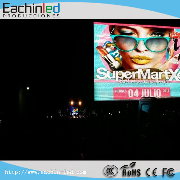 full color HD LED video display screen epoxide resin electronics led video wall