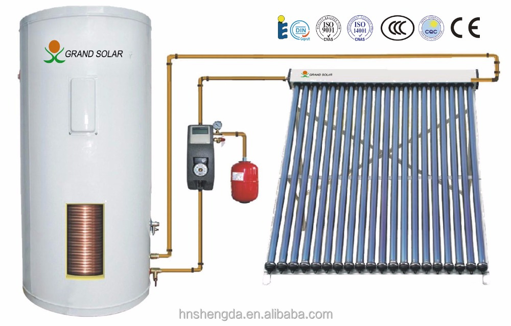 new popular split pressurized solar water collector OEM/Grand solar water heater 100-1000L