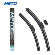 universal performance frameless windshield wiper blade for car