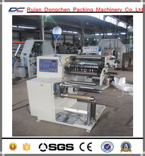 Lable slitting machine with rotary die cutting machine