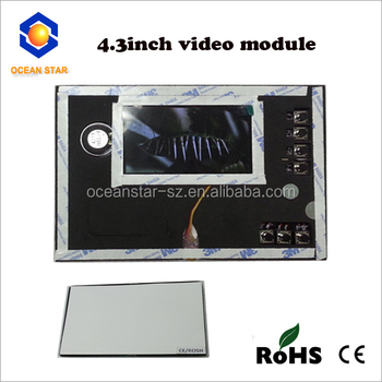 4.3inch LCD video modules