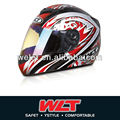 White ECE Full face helmet WLT-101 new design helmet good sale