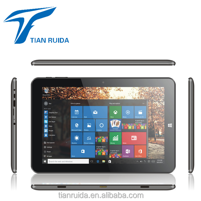 10 inch Intel Window10 android 6.0 dual system tech pad 2 in 1 notebook laptop computer tablets pc with GSM pogo keypad