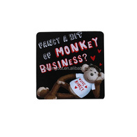 advertising personalized laminated paper fridge magnet sticker