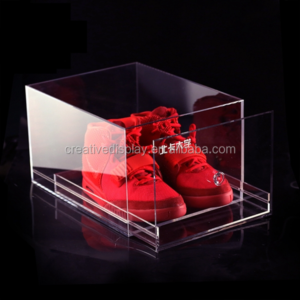 2015 hot sale acrylic sneaker box