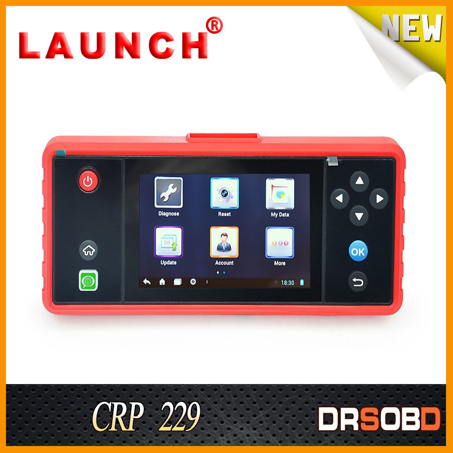 "Newest Version 15PIN Diagnostic Interface Launch x431 CRP229 Touch 5.0"" Diagnostic Tools"