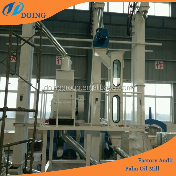Palm kernel cracking and separating machine/palm kernel oil processing machine