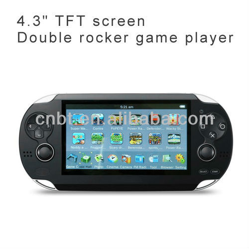 download games for pmp mp5 support double rocker game player with cheap price(BT-P506)