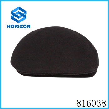 wholesale 100% wool felt hat newsboy cap cabbie hat