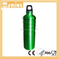 Wide Mouth Rubber Paint Sprayed Aluminum Sport Water Bottle