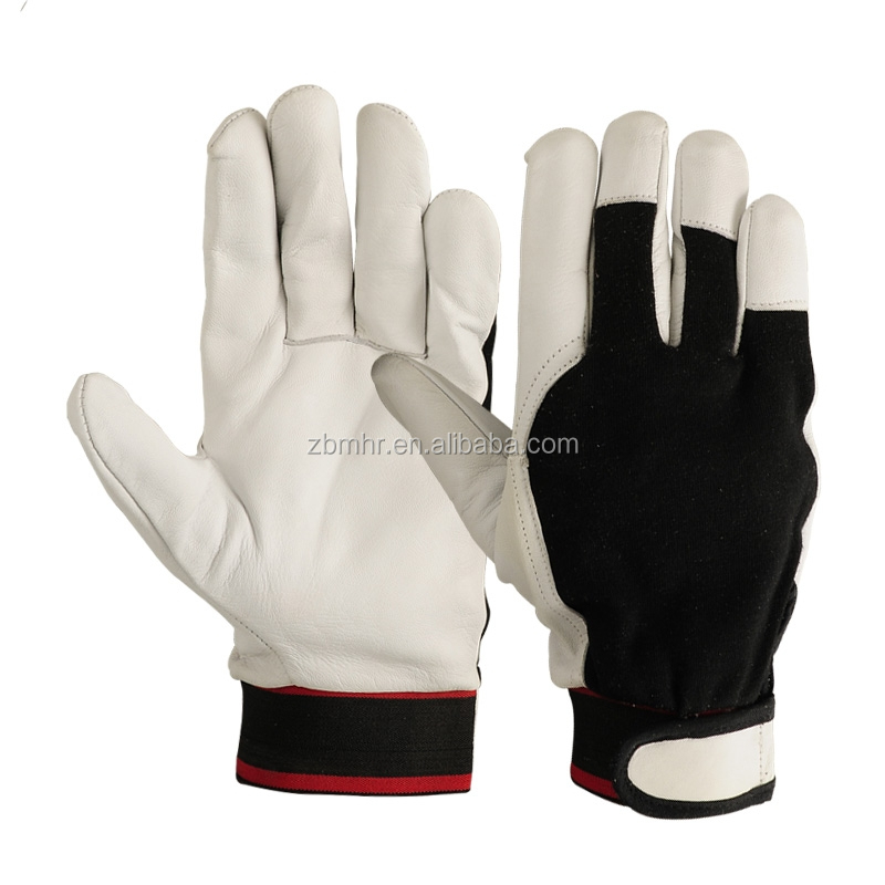 Brand MHR Deerskin leather working gloves with long sleeves