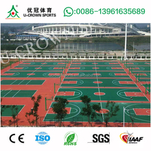 tensile basketball court with PU/TPU/Acrylic for basketball court floor