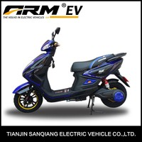 Hot Sale Optional Color Cool Drum Brake Electric Powered Motorcycle