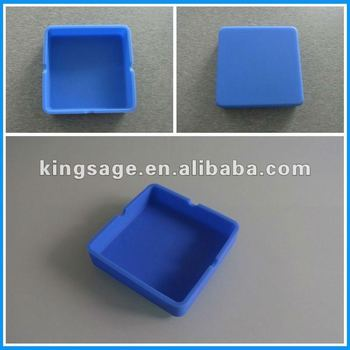 Bendable and unbreakable eco-friendly and healthy light silicone ashtray