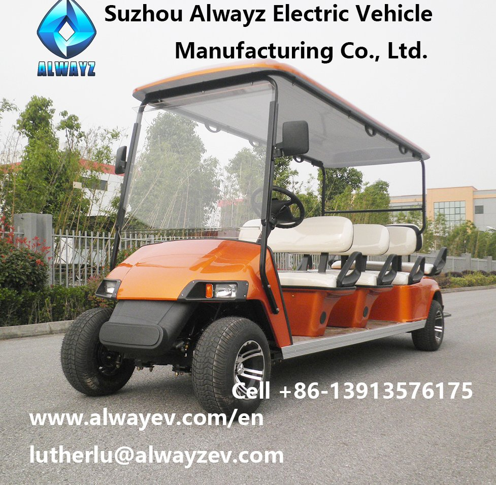 Electric golf car AW2064K golf cart 2-seater 4-seater 6-seater