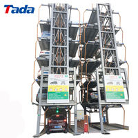 High Efficient Standard vertical rotary car parking system price