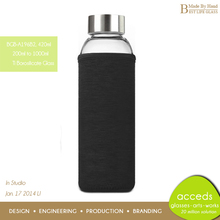 Mouth Blown Personalized Hot Travel Water Filter Bottle