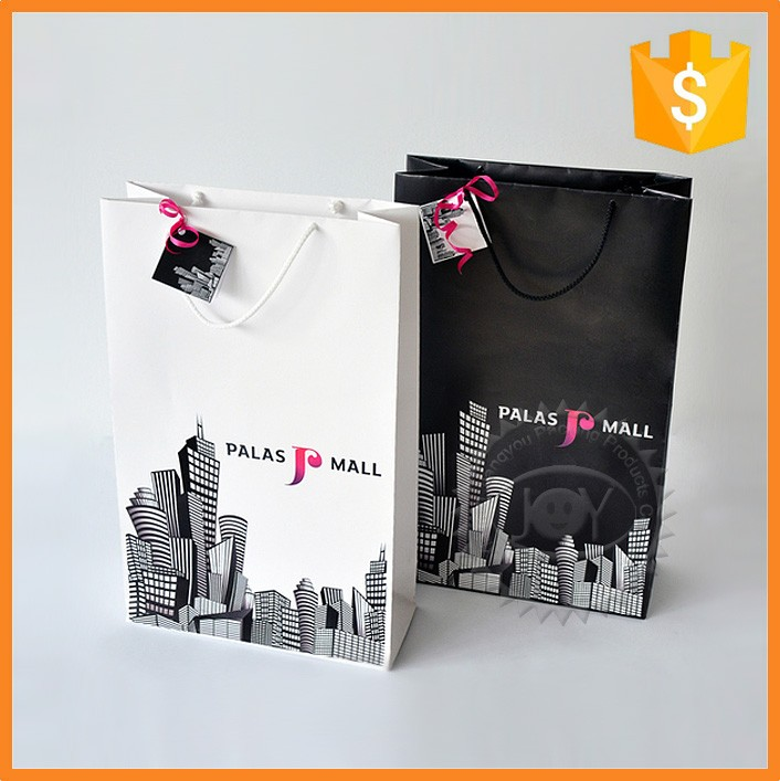 SGS certified manufacturer printed fancy cardboard paper shopping bags
