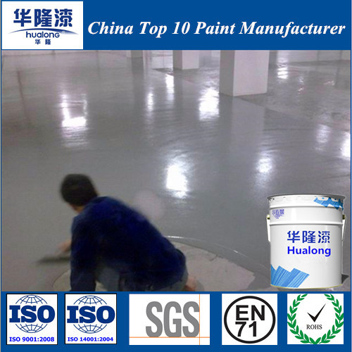 Hualong Epoxy Floor Paint/Coating for Middle Coating