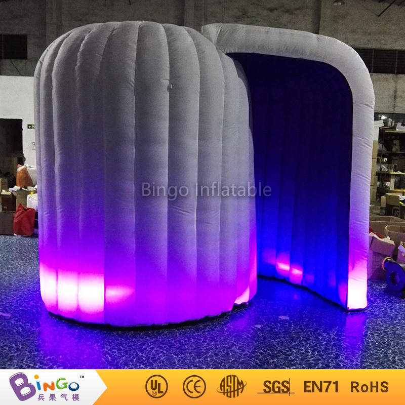 Cheap inflatable balloon tents camera photo booth