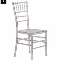 Printed resin clear chiavari chair wedding tiffany chair for rental/wedding/party/event