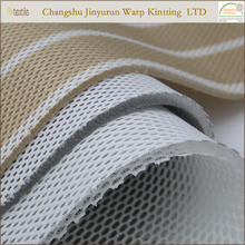 AR111 recycled polyester sandwich spacer 3d knit mesh fabric 20mm manufacturers for mattress