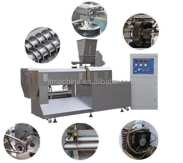 Wholesale Automatic Dog Chews Feed Equipment Production Line